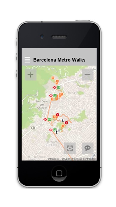 Barcelona Metro Walks - CA screenshot one