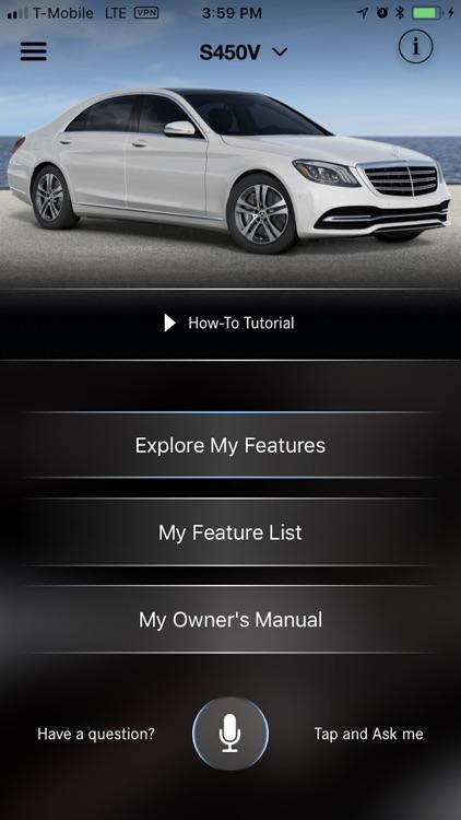 mercedes benz manual app