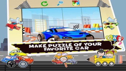 Educational Car Game For Kids