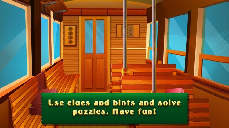 Escape Boy In Train - start a brain challenge screenshot-4