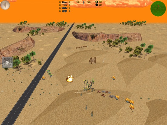 Desert War 3D - Tactical game для iPad