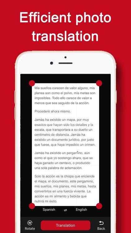 iSpanish - Spanish Translator screenshot-3