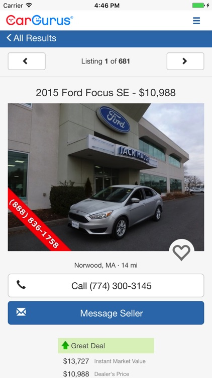 CarGurus: Shop Cars, Get Deals