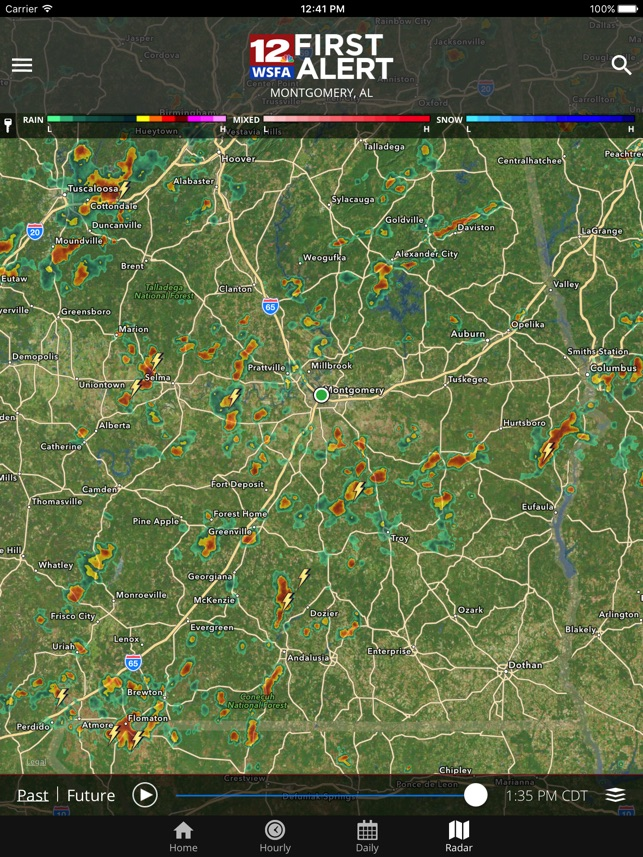 WSFA First Alert Weather on the
