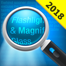 Magnifying Glass - (Magnifier + Torch)
