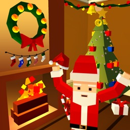 Christmas House Decoration 3D