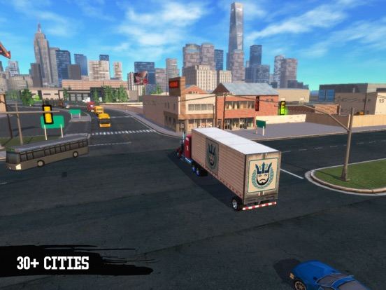 Truck Simulation 19 screenshot 15