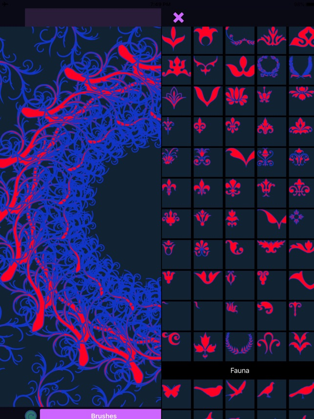 Mandala Maker: symmetry doodle Screenshot