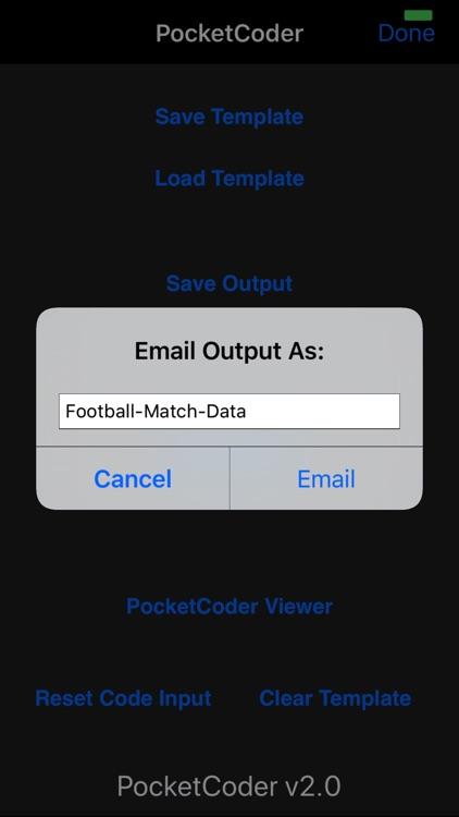 PocketCoder screenshot-4