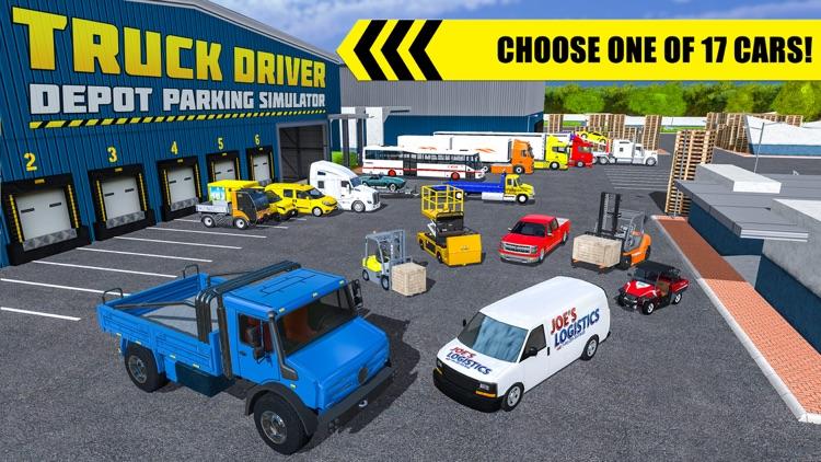 Truck Driver: Depot Parking screenshot-4