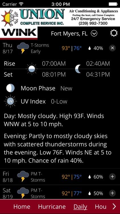WINK Weather screenshot-3