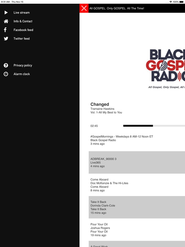 Black Gospel Radio on the App Store