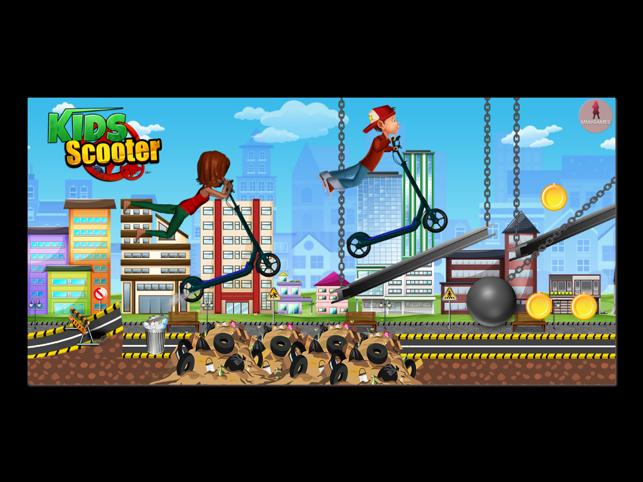 Kids Scooter Screenshot