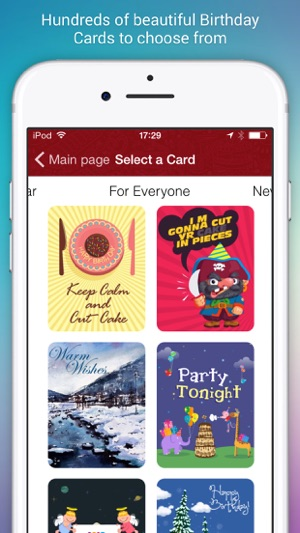 Birthday cards for friends on the app store screenshots bookmarktalkfo Gallery