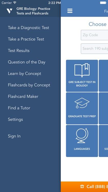 GRE Biology Prep: Practice Tests, Flashcards