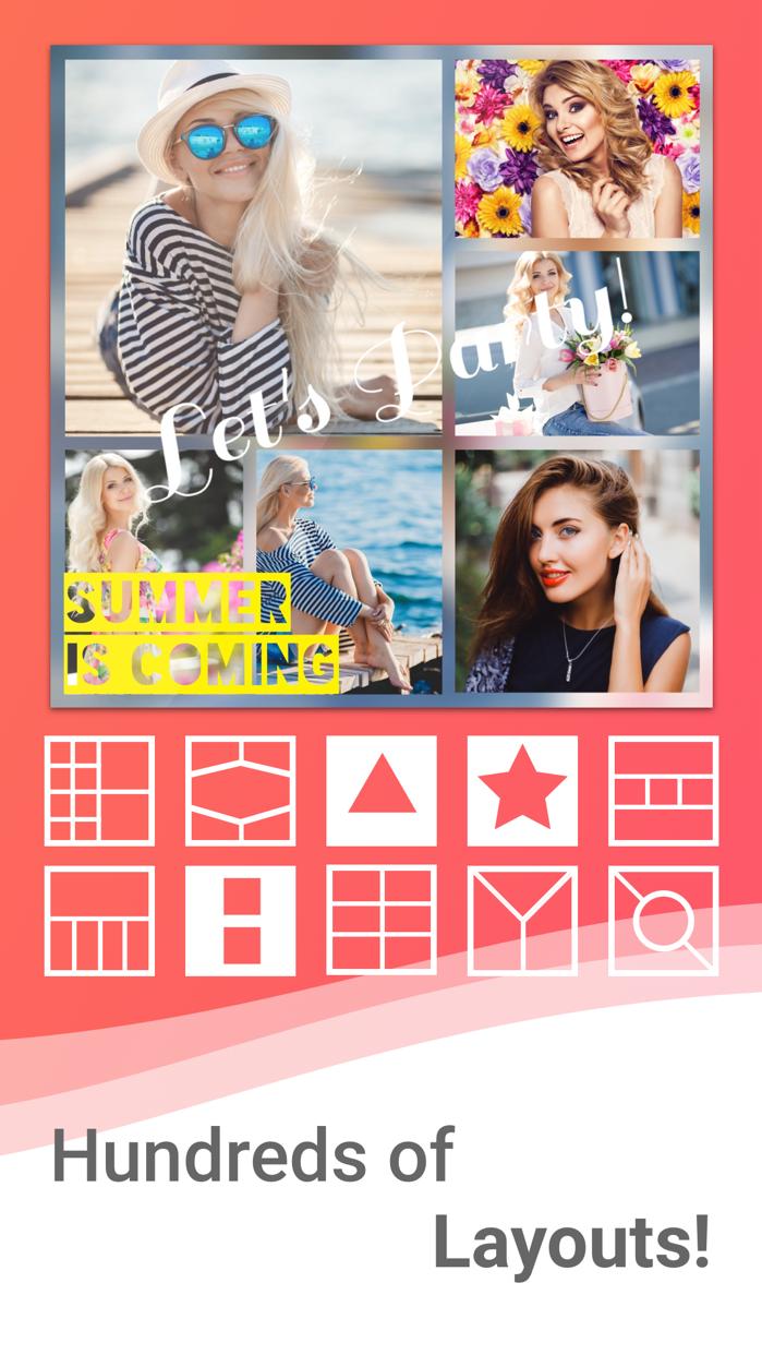 Photo Collage Pro Editor Screenshot