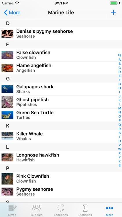 Dive Log screenshot-5