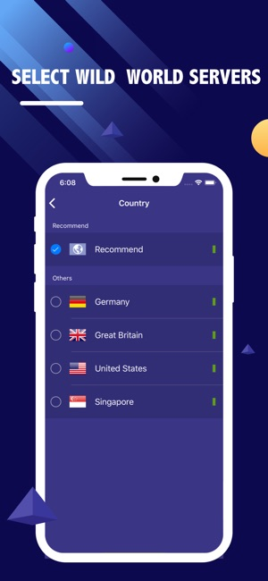 VPN Ship-Unlimited VPN Proxy Screenshot