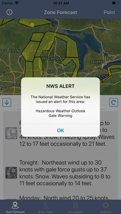 Great Lakes Boating Weather screenshot 8