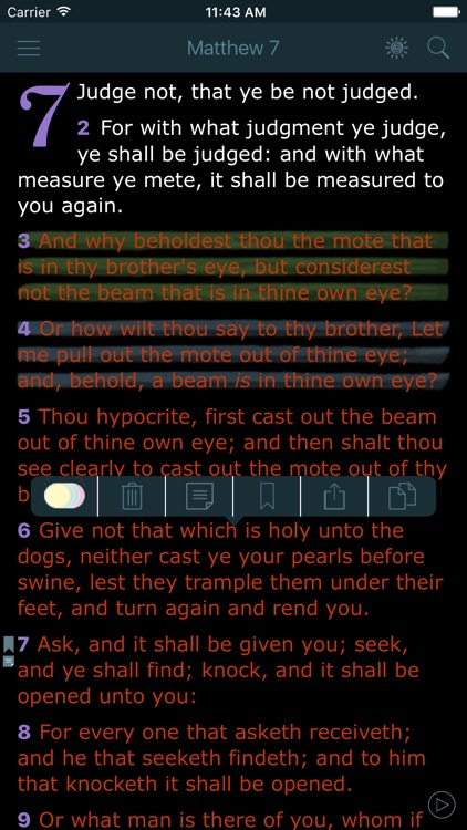 Bible Offline with Red Letter