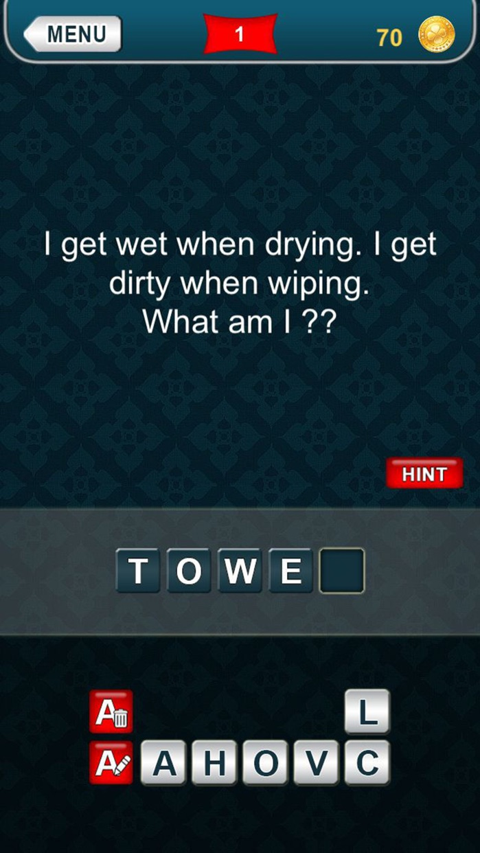 What am I? riddles - Word game Screenshot