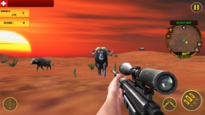 Desert Animal Shooting 18 Pro screenshot one