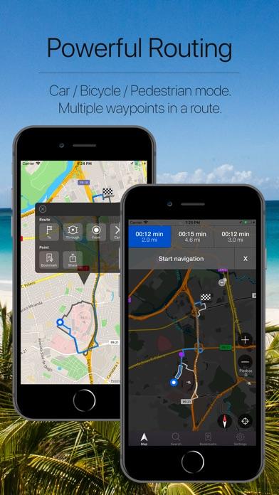 Puerto Rico Offline Navigation Screenshot