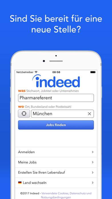 Screenshot for Indeed Jobs in Austria App Store