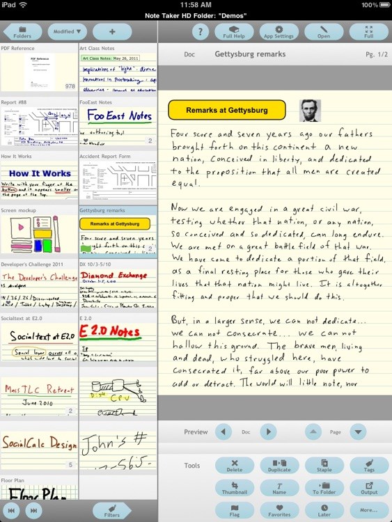 Note Taker HD screenshot-3