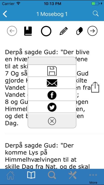 Bibelen på Dansk screenshot-4