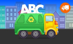 ABC Garbage Truck - Alphabet Fun Game for Preschool Toddler Kids Learning ABCs and Love Trucks and Things That Go