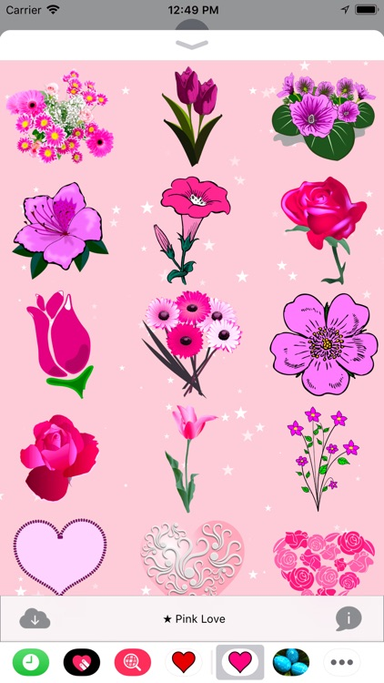 Pink Love • Stickers