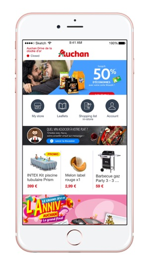 Auchan Luxembourg Dans L App Store