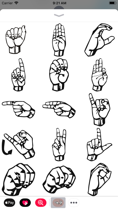 American Sign Language Pack screenshot three