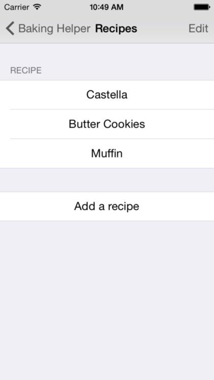 Baking Helper. screenshot-3