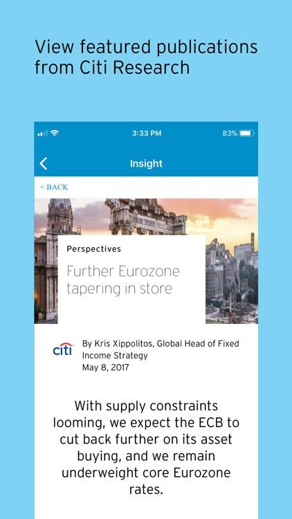 Citi Private Bank In View screenshot-6