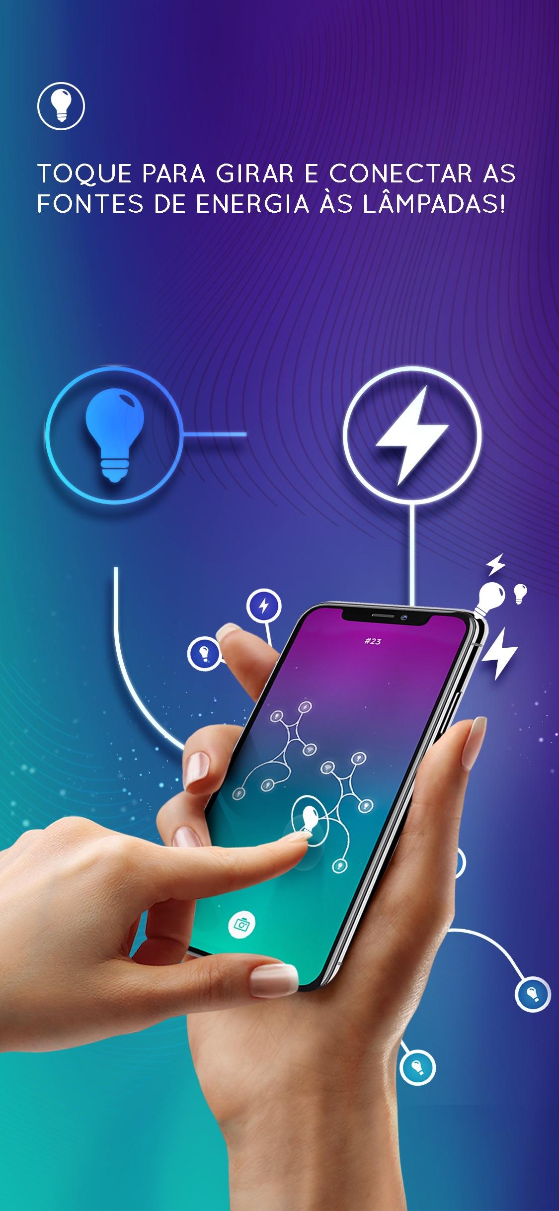 Screenshot do app Energia: Transmissão por Fio