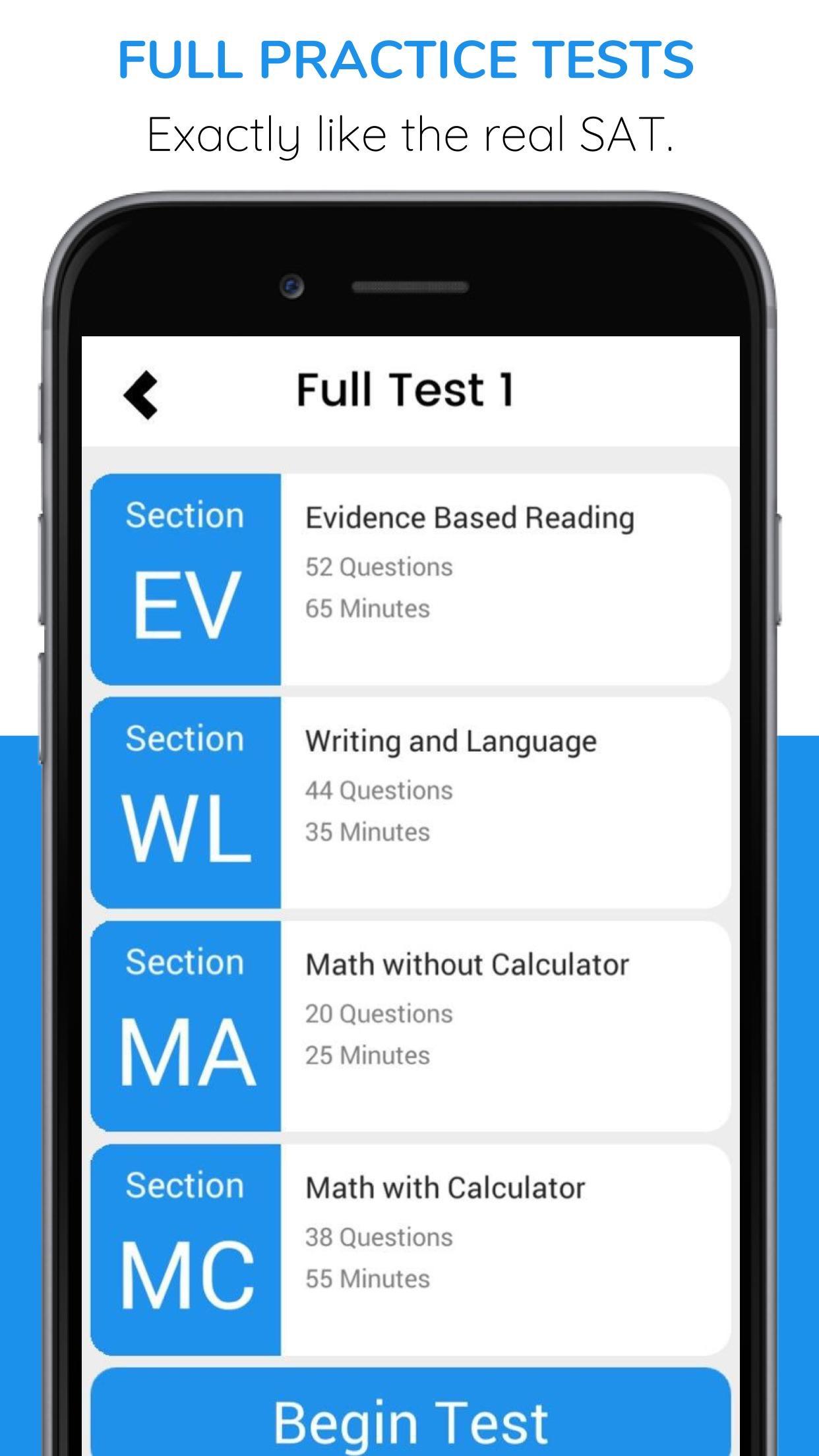 SAT Flash - Practice and Prep Screenshot