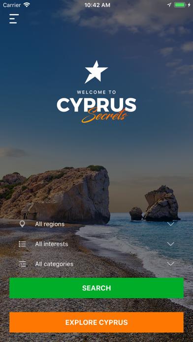 Cyprus Secrets: Travel Guide screenshot one