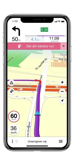 Krak Navigation Offline Gps On The App Store