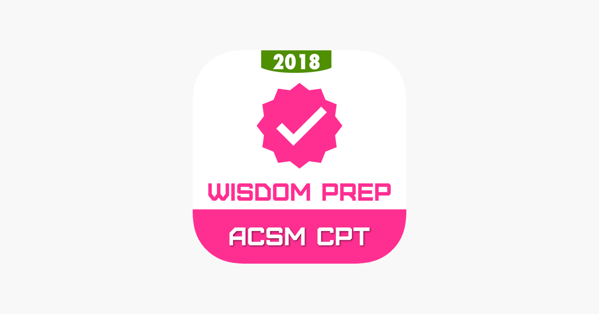 Acsm Cpt Exam Prep 2018 On The App Store