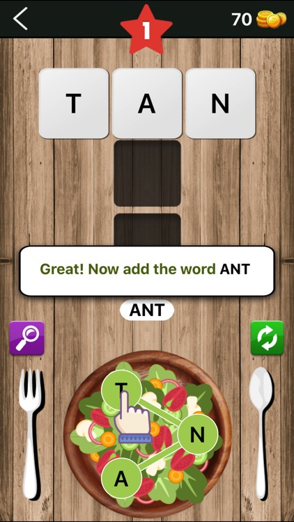Word Salad : Connect Letters screenshot-0