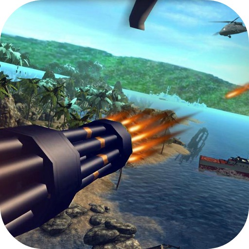 Helicopter Shoot Gunner 3D