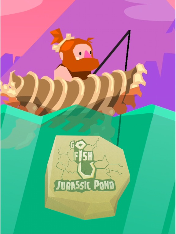 Go Fish: Jurassic Pond screenshot 10