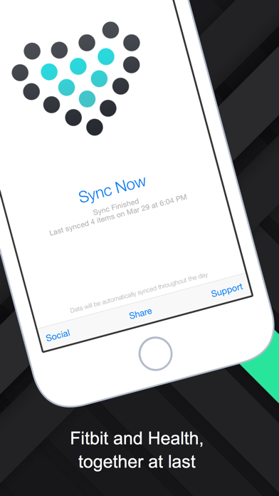 Sync Solver - Health to Fitbit Screenshot on iOS