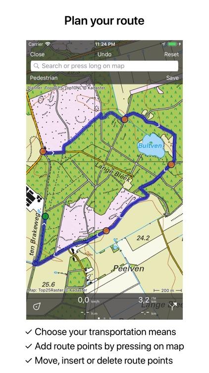 Topo GPS Netherlands screenshot-3