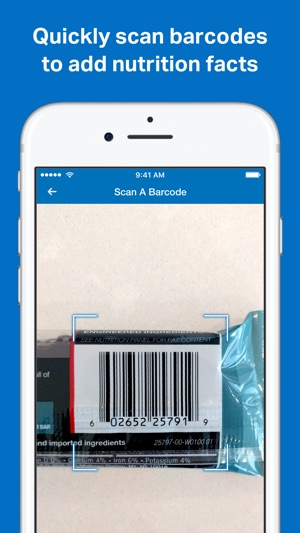 how to search items on myfitnesspal