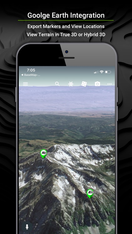 BaseMap: GPS for the Outdoors