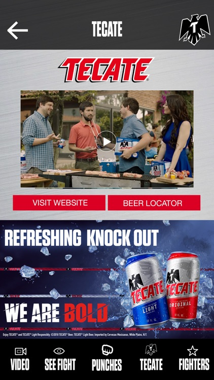 Tecate Bold Punch screenshot-5