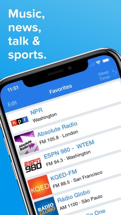 Simple Radio - Live AM & FM screenshot-0